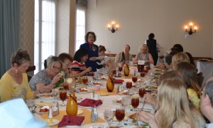 Shelley Gillespie, Book Writing Success Coach, speaks to Soroptimists Club in Chandler Arizona about book writing
